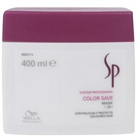 Wella System Professional Kaukė dažytiems plaukams Wella SP Color Save Mask 400 ml
