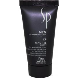 Wella System Professional Raminantis šampūnas jautriai galvos odai Wella SP Men Sensitive Shampoo 30 ml