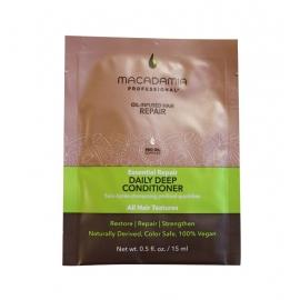 Intensyviai atstatantis kasdienis plaukų kondicionierius Macadamia Daily Deep Conditioner MAM200113, 15 ml