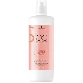 Schwarzkopf Professional Pažeistų plaukų šampūnas Schwarzkopf Peptide Repair Rescue Shampoo 1000 ml