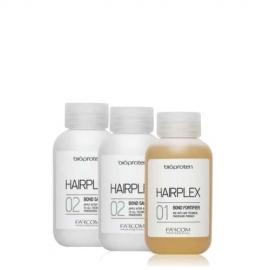 Farcom professional Palaikymo sistema techninių procedūrų metu Farcom Bioproten HAIRPLEX 3 X 100 ml
