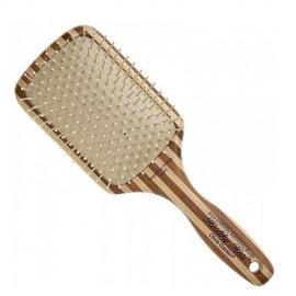 Bratt Bambukinis plaukų šepetys Olivia Garden Paddle Large Brush P7
