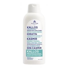 Kallos Professional Kondicionierius su kašmyru KALLOS Repair Hair Conditioner With Cashmere Keratin 1000ml