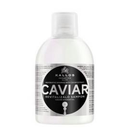Kallos Professional Atstatomasis plaukų šampūnas su ikrų ekstraktu Kallos Caviar Hair Shampoo 1000ml