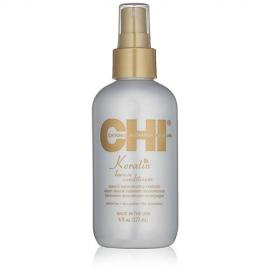 CHI Nenuskalaujamas pažeistų plaukų kondicionierius su keratinu CHI Keratin Leave-in Conditioner 177 ml