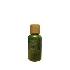 CHI Aliejus plaukams ir kūnui CHI Olive Organics Olive & Silk 15 ml