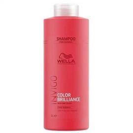 Wella Professionals Dažytų, normalių plaukų šampūnas Wella Color Brilliance Fine Invigo Shampoo 1000ml