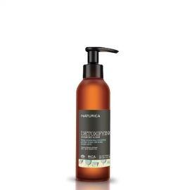 Rica Drėkinantis ir valantis plaukų ir galvos odos šveitiklis, visų tipų plaukams su spalvos apsauga Rica Naturica Detoxif