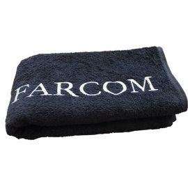 Farcom professional Juodas rankšluostis Farcom Seri 50x90 cm