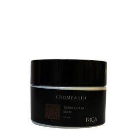 Rica Medaus atspalvį suteikianti, dažanti kaukė plaukams RICA Cromearth I Colordi Della Terra Cotta 50 ml