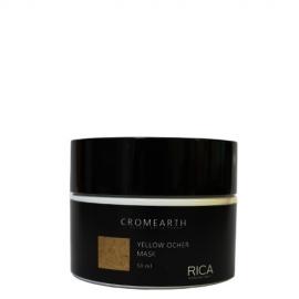 Rica Dažanti kaukė labai šviesiems plaukams RICA Cromearth I Colordi Della Terra Yellow Ocher 50 ml