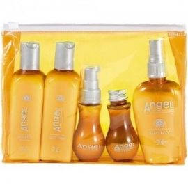 Angel Professional Testerių rinkinys krepšelyje dažytiems plaukams Angel Coloured hair (5vnt)