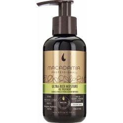 Macadamia Ultra Rich Moisture Oil Treatment intensyvaus poveikio drėkinamasis aliejus plaukams