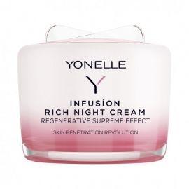 Infusion Rich Night Cream Maitinamasis naktinis veido kremas, 55ml
