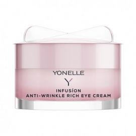 Infusion Anti-Wrinkle Rich Eye Cream Maitinamasis paakių kremas nuo raukšlių, 15ml