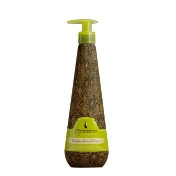 Macadamia Natural Oil nenuplaunamas, maitinantis kremas plaukams