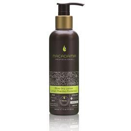 Macadamia Professional Blow Dry glotninantis ir saugantis plaukus nuo karščio losjonas