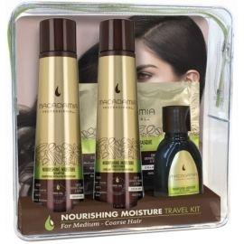 Macadamia Professional Nourishing Moisture Travel Kit plaukų priežiūros priemonių rinkinys