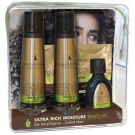 Macadamia Professional Ultra Rich Moisture Travel Kit plaukų priežiūros priemonių rinkinys
