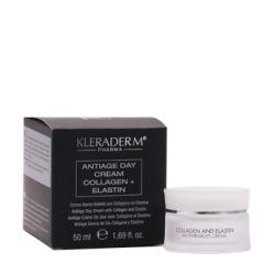 Kleraderm Anti-Age dieninis kolageno - elastino kremas (nuo raukšlių)