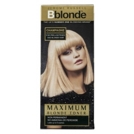 Plaukų tonavimo priemonė Jerome Russell Maximum Blonde Toner Champagne JR533834, plaukams suteikia atspalvį, 75 ml