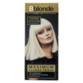 Plaukų tonavimo priemonė Jerome Russell Maximum Blonde Toner Platinum JR534301, plaukams suteikia atspalvį, 75 ml