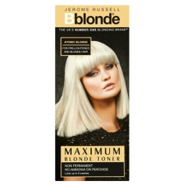 Plaukų tonavimo priemonė Jerome Russell Maximum Blonde Toner Atomic JR535004, plaukams suteikia atspalvį, 75 ml