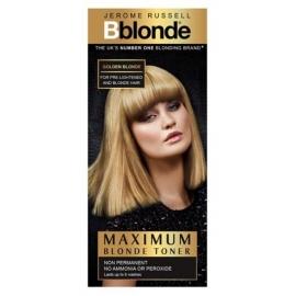 Plaukų tonavimo priemonė Jerome Russell Maximum Blonde Toner Golden JR535012, plaukams suteikia atspalvį, 75 ml