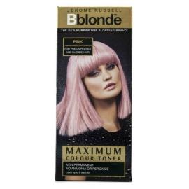 Plaukų tonavimo priemonė Jerome Russell Maximum Colour Toner Pink JR534270, plaukams suteikia atspalvį, 75 ml