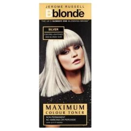 Plaukų tonavimo priemonė Jerome Russell Maximum Colour Toner Silver JR534256, plaukams suteikia atspalvį, 75 ml