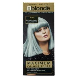 Plaukų tonavimo priemonė Jerome Russell Maximum Colour Toner Aqua JR534280, plaukams suteikia atspalvį, 75 ml