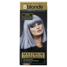 Plaukų tonavimo priemonė Jerome Russell Maximum Colour Toner Steel JR534281, plaukams suteikia atspalvį, 75 ml