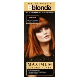 Plaukų tonavimo priemonė Jerome Russell Maximum Colour Toner Copper JR535010, plaukams suteikia atspalvį, 75 ml