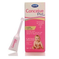 Conceive Plus vaisingumo lubrikantas (padeda išlaikyti spermatozoidų gyvybingumą)