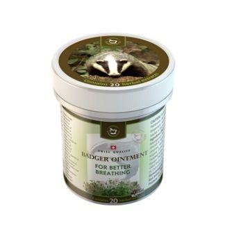 HERBAMEDICUS augalinis barsukų tepalas (nuo peršalimo ir kvėpavimo takų susirgimams)