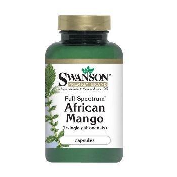 Swanson AFRIKOS MANGO N60 maisto papildas, padedantis išlaikyti normalų kūno svorį bei atsikratyti viršsvorio