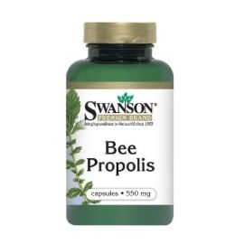 Swanson BIČIŲ PROPOLIS N60 maisto papildas, skatinantis odos audinių atsinaujinimą, stiprinantis imuninę sistemą