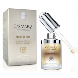 Koncentratas veido odai Casmara Concentrate Rose D-Tox CASA14003, 30 ml
