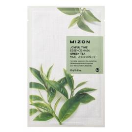 Veido kaukė su žaliąja arbata, 2