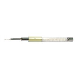 Teptukas nagų dailei Osom Professional Pure Kolinsky Nail Art Brush Round White Pearl Series N0760PG00, 00