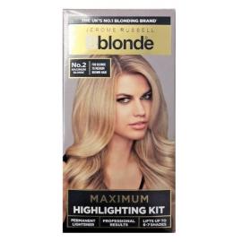 Šviesinimo rinkinys plaukams Hig