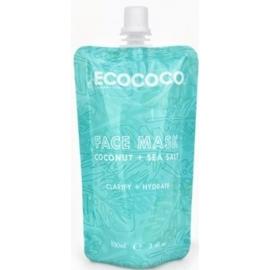 Veido kaukė ECOCOCO Face Mask ECO00051, su kokosų aliejumi, 100 ml
