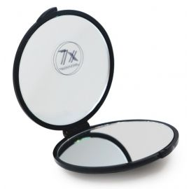 """Atlenkiamas veidrodis """"Black STHJ01"""", 7,5 cm skersmuo, 7x didinimas"""