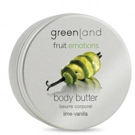 Kūno odos sviestas Greenland Body Butter Lime - Vanilla, GRLFE0431, žaliųjų citrinų- vanilės kvapo, 120 ml