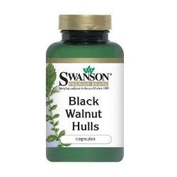 Swanson Graikinis juodasis riešutmedis N60 maisto papildas