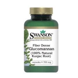 Swanson GLIUKOMANANAS (AMORPHOPHALLUS KONJAC) N90 maisto papildas k8no svorio reguliavimui