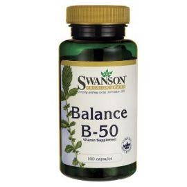 Swanon VITAMINŲ B KOMPLEKSAS N100 maisto papildas, įvairiapusiai organizmo priežiūrai (regėjimui, odai, nervų sistemai)