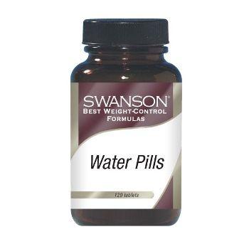 Swanson WATER PILLS N120 maisto papildas, padedantis lieknėjant, skatina kraujo cirkuliaciją, mažina kojų tinimą