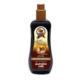 Australian Gold purškiamas kūno pienelis su natūraliais bronzantais ir apsauga nuo saulės SPF 30