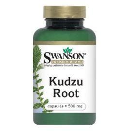 Swanson Premium Brand Kudzu šaknies milteliai 500 mg N60 maisto papildas nusilpusio organizmo atstatymui